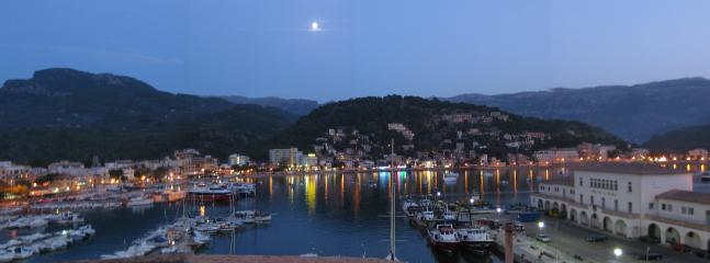 Again, part of the view from Ca'n Barbara, but at night
