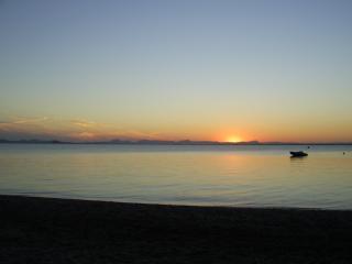 A glorious Mar Menor sunset