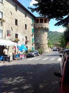 Typical village style - Walled village of Castiglione.