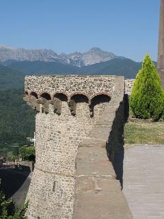 Castiglione Castle Garfagnana Tuscany, Near Castelnuovo.