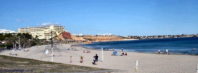 Compoamor Beach with great water sports & beach games