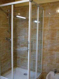 Shower room/ bidet / wash hand basin / vanity unit.