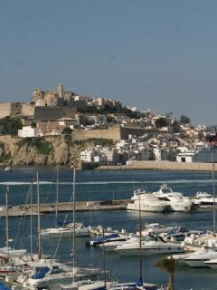 Nearby Ibiza Town and Marina Botafoch