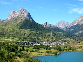 Vista general de Sallent de Gállego (Huesca)