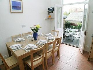 Spacious Dining Area (Extending table) Leading to the Balcony