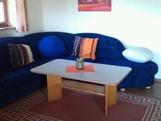 Wohnzimmer ausziehbarer Sitzecke
