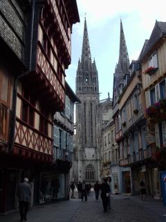 Nearby Medieval City of Quimper
