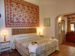 Triple Bedroom at Ancora del Chianti Eco - Friendly B&B in Tuscany