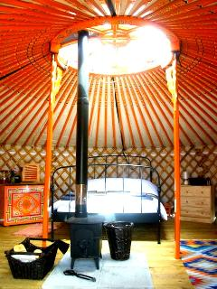 Crown wheel in Yurt