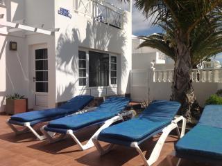 Relaxing Cushioned Sun Loungers