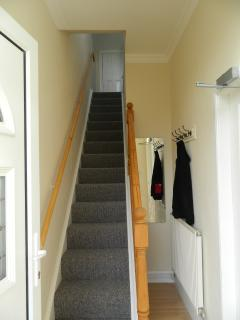 Stairs to the loft bedroom