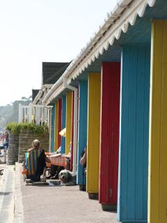 You can hire beach huts for your stay from Bournemouth Council. A lovely way to spend the day!