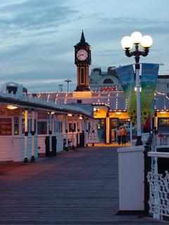 Brighton Pier in the evening