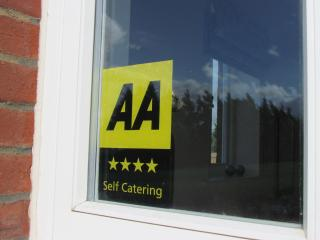 'AA' 4-Star, quality assured accommodation.