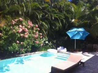 Paradise Bird: Studio design,piscine,jardin,hamacs, Trois-Ilets