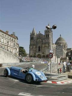 Race du Ramparts, Angouleme - famous for vintage car racing