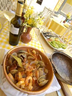 'Cataplana' at the Beach Restaurants