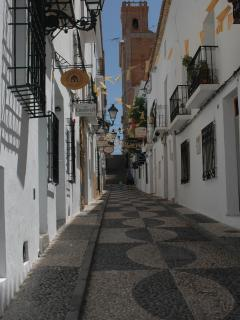 Another Altea old town street view