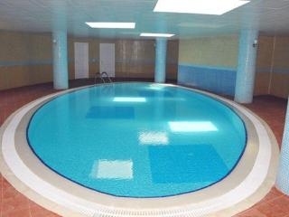 Heated indoor pool makes it an all year round destination