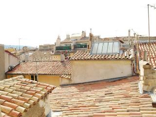 View over the rooftops of Aix, Aix-en-Provence