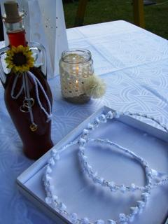 traditional wedding items for the newly weds