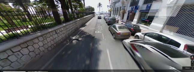 notre Rue de Rivoli, 5 minutes du bord de mer