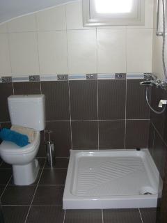 Ground floor bedroom shower room