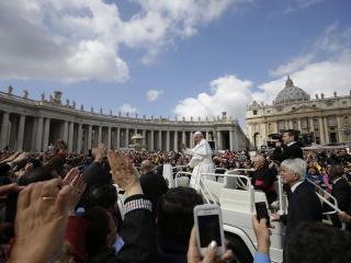 Udienza di Papa Francesco, Piazza San Pietro