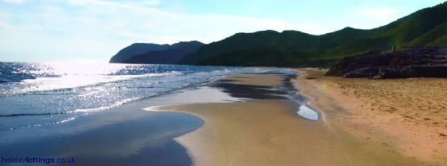Calblanque Beach Nature Reserve 40 mins away