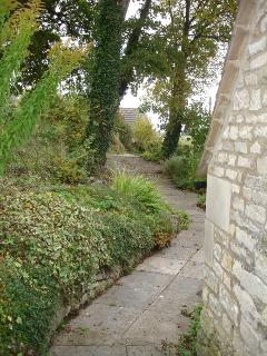From the Coach House to the garden