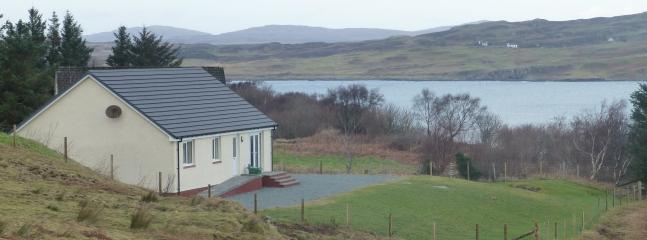Tranquil location overlooking Loch Harport