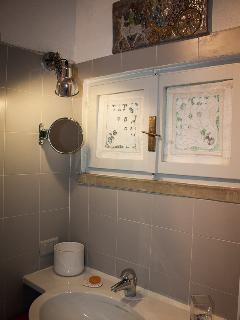 Bathroom upstairs unit