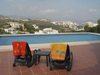 Poolside at  Casa Esperanza with fantastic panoramic views