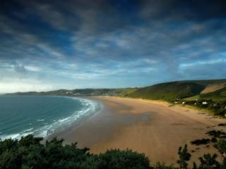 Woolacombe local beach, just 15 mins away by simple car journey