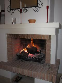 OPEN FIRE FOR COOL WINTER NIGHTS