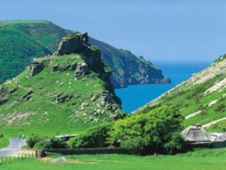 Valley of the Rocks at Lynton . Just 40 mins from the cottage