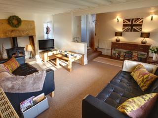 sitting room - contemporary comfort/ original features