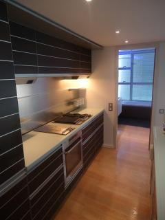 Designer's italian kitchen fully equipped