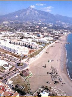 Puerto Banus Beach only 1 km way!