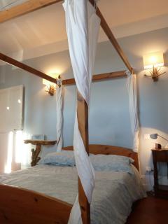 Une chambre double du 1er étage