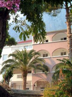 The Caspian apartment is on the 2/F of our villa in the heart of the village