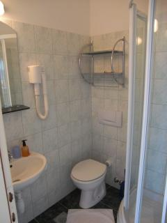Bathroom inkl. shower and WC