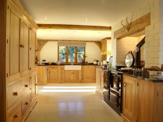 fabulous oak kitchen with every appliance
