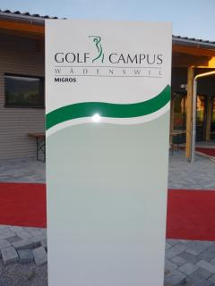 Golf driving ranch, newest in switzerland, ca 300 meters away from apartment
