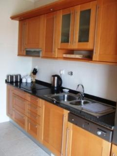The well equipped kitchen, there's also a fan oven, microwave, dishwasher and washing machine.