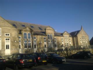 main building, converted school building