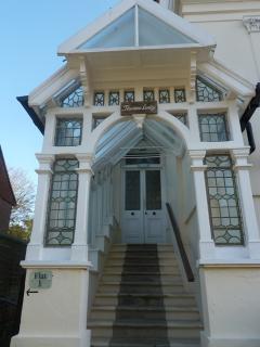 Period entranceway to the apartment