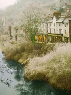 Ironbridge on a frosty morning