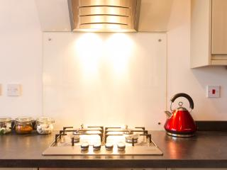 Stylish, newly fitted, contemporary and well equipped kitchen