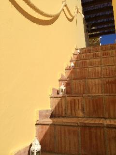 Stairs To The Roof Terrace